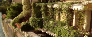 Balconies on Adige river