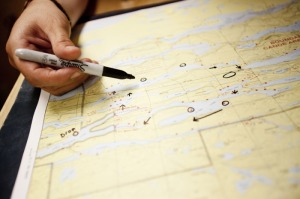 Boundary Waters map planning